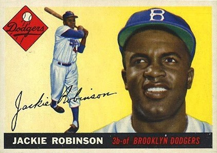 1955 Topps Jackie Robinson