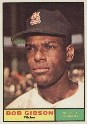 Top 10 Bob Gibson Baseball Cards 9