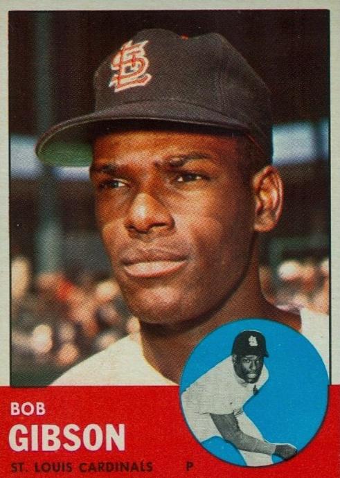 Top 10 Bob Gibson Baseball Cards 5