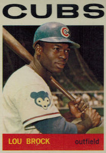 Top 10 Lou Brock Baseball Cards 5