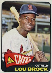 Top 10 Lou Brock Baseball Cards 4