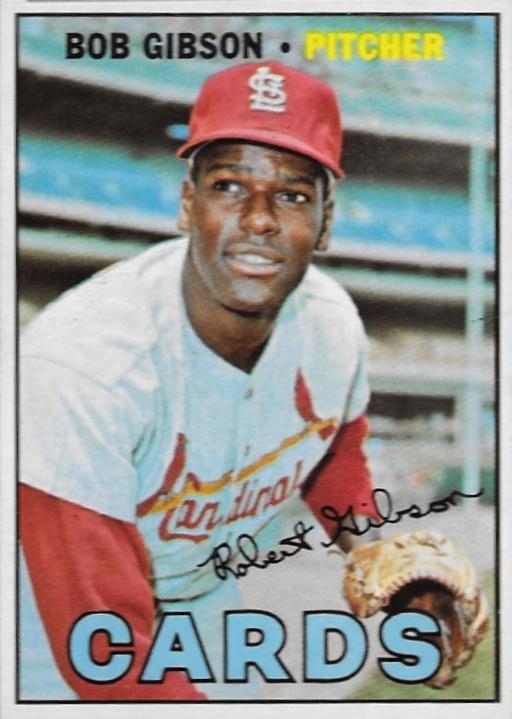 Top 10 Bob Gibson Baseball Cards 3