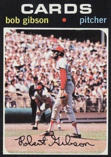 Top 10 Bob Gibson Baseball Cards 2
