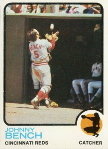 1973 Topps Johnny Bench #380