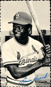 Top 10 Lou Brock Baseball Cards 8