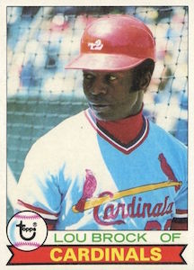 Top 10 Lou Brock Baseball Cards 1