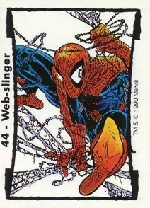 1990 Comic Images McFarlane 2 Spider-Man Trading Cards