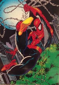 1992 Comic Images Spider-Man 30th Anniversary Spider-Man Trading Cards