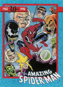 1992 Impel Amazing Spider-Man Trading Cards