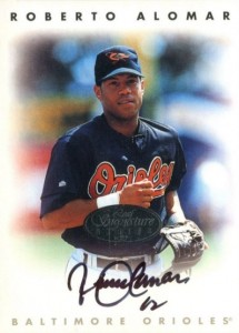 Top 10 Roberto Alomar Baseball Cards 9