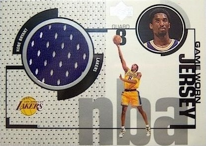 1998-99 Upper Deck Game Jerseys Kobe Bryant #GJ21