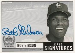 Top 10 Bob Gibson Baseball Cards 7