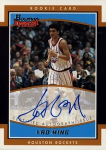 The Ming Dynasty! Top Yao Ming Basketball Cards, Rookie Cards 2