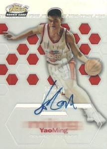 The Ming Dynasty! Top Yao Ming Basketball Cards, Rookie Cards 3