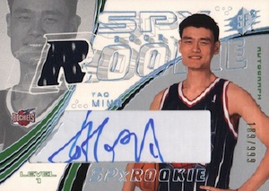 The Ming Dynasty! Top Yao Ming Basketball Cards, Rookie Cards 5