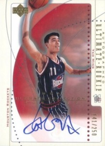 The Ming Dynasty! Top Yao Ming Basketball Cards, Rookie Cards 8