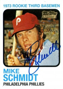 2002 Topps Team Legends Mike Schmidt Autograph #TT-MS