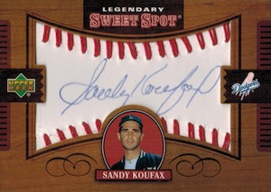 Top 10 Sandy Koufax Baseball Cards 8