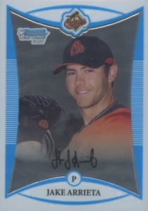 2008 Bowman Chrome Prospects Jake Arrieta