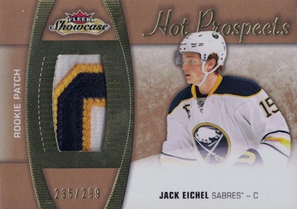 2015-16 Fleer Showcase Jack Eichel RC #200 Patch