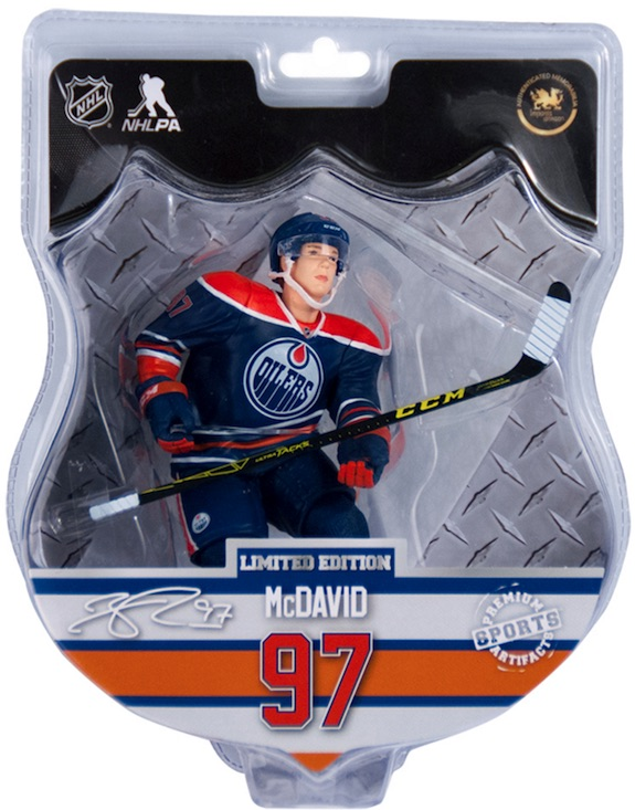 2015-16 Imports Dragon NHL Figures Connor McDavid package