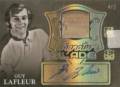 2015-16 Leaf ITG Enshrined Hockey Signature Blade