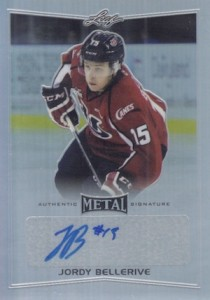 2015-16 Leaf Metal Hockey Base Autograph