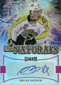 2015-16 Leaf Metal Hockey The Naturals Autograph Nolan Patrick