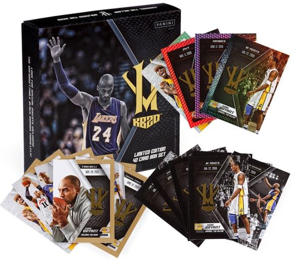 2015-16 Panini HeroVillain Kobe Bryant Basketball Cards 3