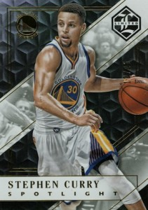 2015-16 Panini Limited Basketball Base Gold Spotlight Stephen Curry