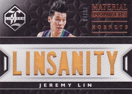 2015-16 Panini Limited Basketball Material Monikers