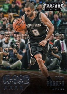 2015-16 Panini Threads Basketball Floor Generals Tony Parker