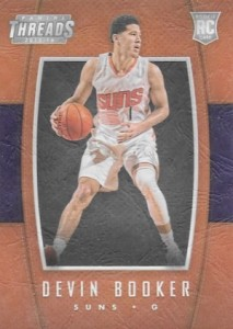 2015-16 Panini Threads Basketball Leather Rookies Booker