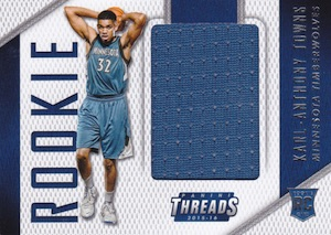 2015-16 Panini Threads Basketball Rookie Threads