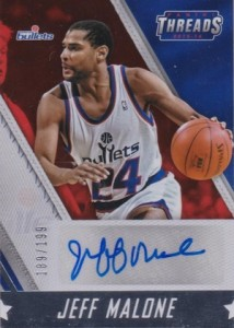 2015-16 Panini Threads Basketball Signatures