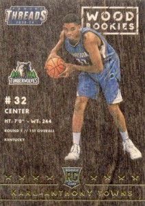 Karl-Anthony Towns Rookie Cards Checklist and Gallery 41
