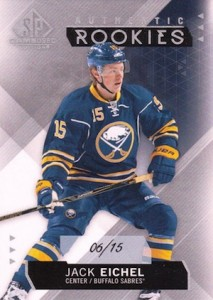 2015-16 SP Game Used Jack Eichel RC #127