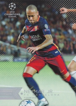 124-Max Kruse-BASE CARD Topps Ligue des Champions