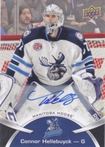 2015-16 Upper Deck AHL Hockey Base Autographs Hellebuyck