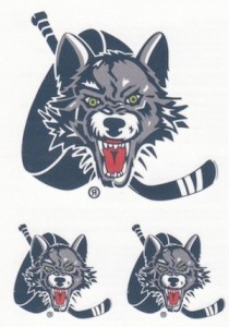 2015-16 Upper Deck AHL Hockey Tattoos Chicago Wolves