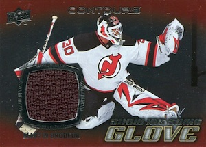 2015-16 Upper Deck Contours Hockey Show Me Some Glove Jersey