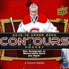 2015-16 Upper Deck Contours Hockey Cards