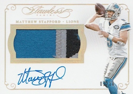 2015 Panini Flawless Football Cards 26