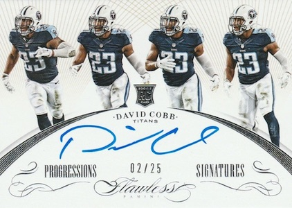 2015 Panini Flawless Football Cards 23