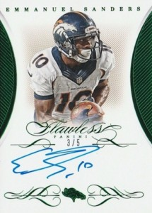 2015 Panini Flawless Football Cards 24