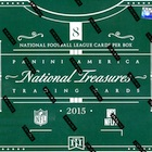 2015 Panini National Treasures Football Cards