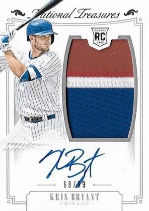 Kris Bryant Rookie Card Gallery and Checklist 21