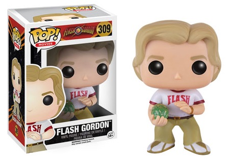 2016 Funko Pop Flash Gordon Vinyl Figures 309 Flash Gordon