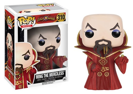 2016 Funko Pop Flash Gordon Vinyl Figures 310 Ming the Merciless