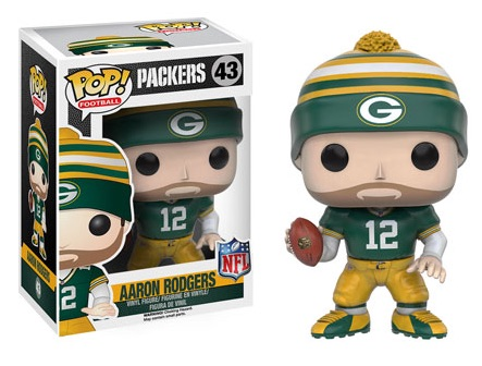 2016 Funko Pop NFL Series 3 43 Aaron Rodgers